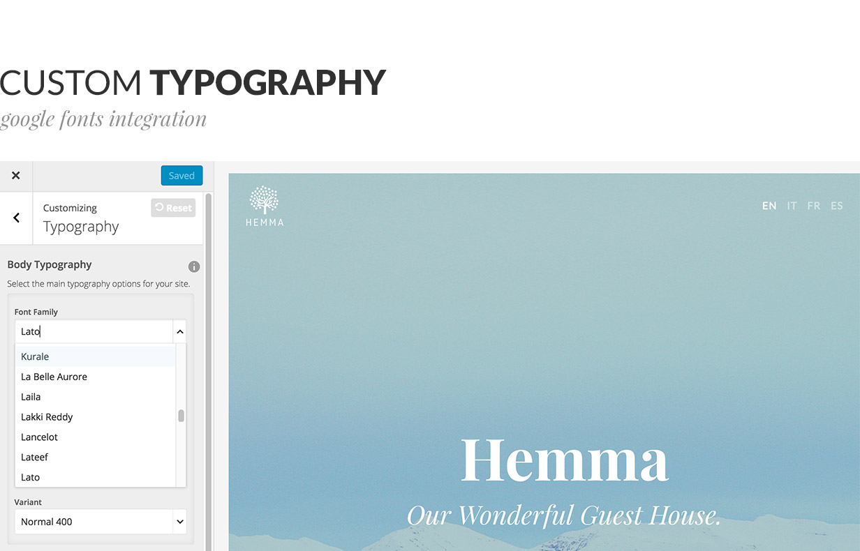 Hemma - A WordPress theme for Holiday Houses Download